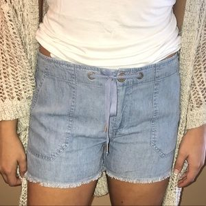 Sanctuary soft jean shorts